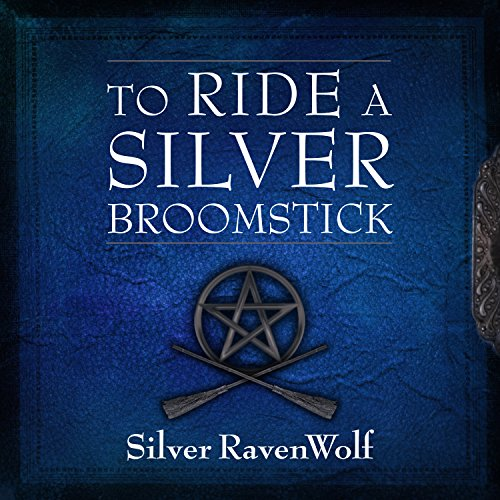 To Ride a Silver Broomstick audiobook cover art