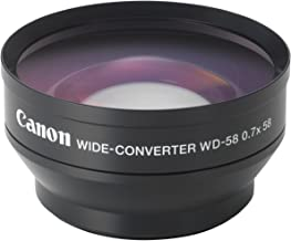 .43x Wide Angle/Macro Lens for Canon 18-55mm, 55-250mm, 75-300mm III, 70-300mm is USM, 24mm F2.8, 28mm F1.8, 50mm F1.4, 65mm F2.8, 85mm F1.8, 90mm F2.8, 100mm F2 & 100mm F2.8 Lens