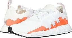 Footwear White/Footwear White/Solar Red 2