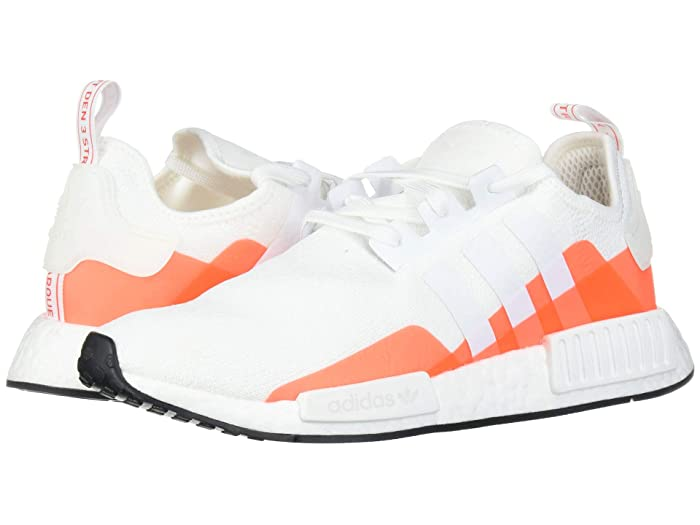 adidas Originals  NMD_R1 (Footwear White/Footwear White/Solar Red 2) Mens Running Shoes