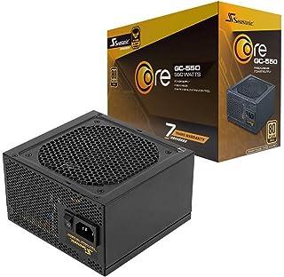 ناقل موسونيك كور GC-650،650W 80 ذهبي، مخرج مباشر، تحكم ذكي وسامت، حجم مضغوط 140 مم، تحكم صامت في درجة الحرارة، مزود طاقة م...