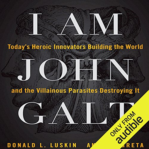 I Am John Galt audiobook cover art