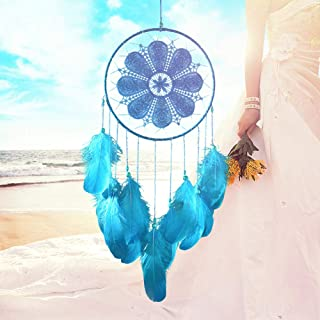 E-SHINE Dream Catchers for Boy and Girl's Gifts (Blue, Dia 7.9