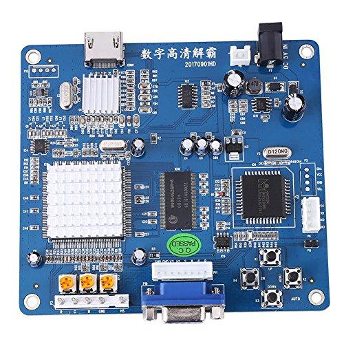 Atomic Market VGA/RGB/CGA/EGA/YUV to HDMI Video Output Converter Board HD for Arcade Blue