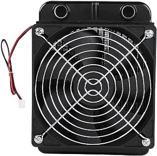 fosa CPU Radiator Fan, DC12V CPU Water Cooling Radiator G1/4 Thread Heat Row Radiator with Fan 18 Tubes 120/360mm Radiator CPU Liquid Cooler for Computer CPU Water-Cooled(120mm)