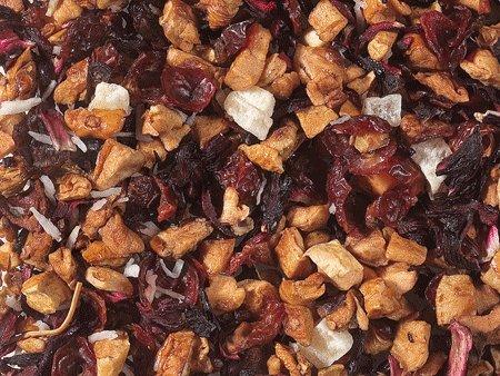 aromatisierter Früchtetee - PINA COLADA - Kokos/Ananas-Note - 1kg - Tee