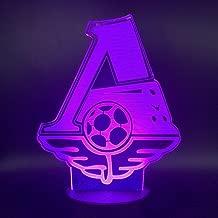 3D Illusion Lamp Luce Notturna A Led Per Club Di Calcio 3D Per La Decorazione Della Stanza Di Casa Per Ufficio Gift Per Lampada Da Tavolo Per Bambini Lampada Da Tavolo Per Bambini