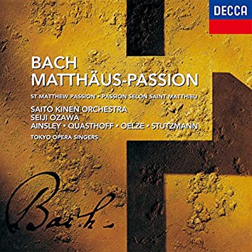 J.S.バッハ:マタイ受難曲 BWV 244