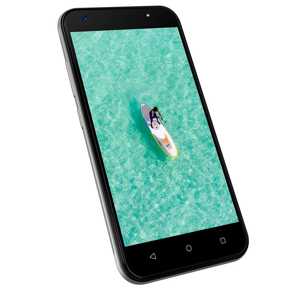 Smartphone Movil Libre 3G 5 Pulgadas Dual SIM, Cámara 8MP+5MP, 1GB RAM+8GB ROM, Android 7.0, 2400mAh Batería, Telefono Movil Wieppo S5, Plata: Amazon.es: Electrónica
