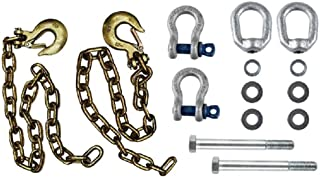 Andersen Mfg 3230 Ultimate Connection Safety Chains - Includes Bracket Hardware.