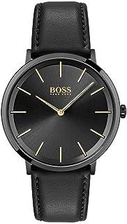 Hugo BOSS Men's Analogue Quartz Watch with Leather Calfskin Strap 1513830