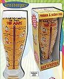 Verre à Bière Géant 29 cm 1.5 L dans sa Boite 18 ans
