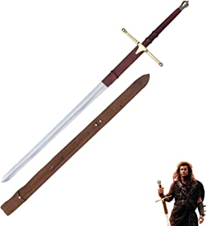 Sir William Wallace BRAVEHEART Replica Epic Great Sword 42 Inch to 52 Inch