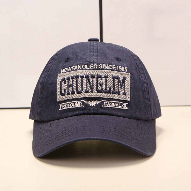 HZB Fashionable Dark blueee Baseball Cap Outdoor Leisure Trip Sun Hat