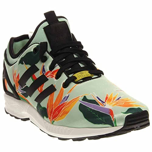 c1a1090f5 adidas Mens ZX Flux NPS Blue Green Black-Yellow Synthetic Size 8