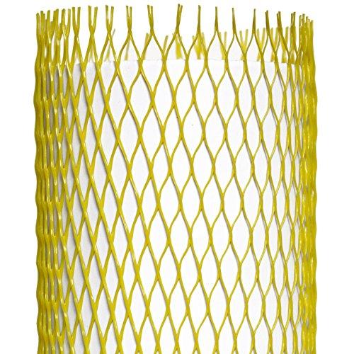 Netzschutzschlauch, Oberflächenschutznetz ProtectaSleeve Standard, Ø 100-200mm, 50m gelb, zum Schutz von empfindlichen Gegenständen bei Transport und Lagerung
