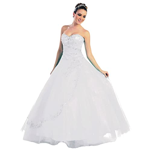 cd18adf59e2e Faironly NRM28 Strapless Formal Dress Prom Gown