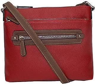 Tina Mini Crossbody Bag Red