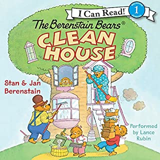 Couverture de The Berenstain Bears Clean House