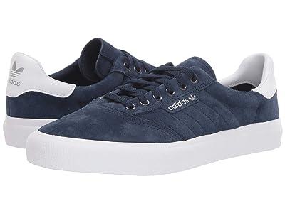 adidas Skateboarding 3MC (Collegiate Navy/Footwear White/Grey Two F17) Skate Shoes