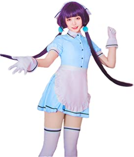 Trustful Anime Maid Cosplay Princess Dress Girl Cinderella Clothes Halloween Costume Female Lolita Dresses Girl Restaurants Maid Clothes Home