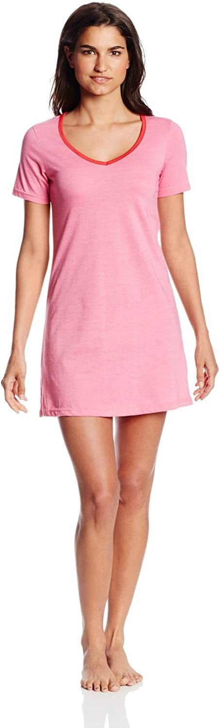 Bottoms Out Women's New products, world's highest quality popular! Max 61% OFF Short-Sleeve V-Neck Nightie