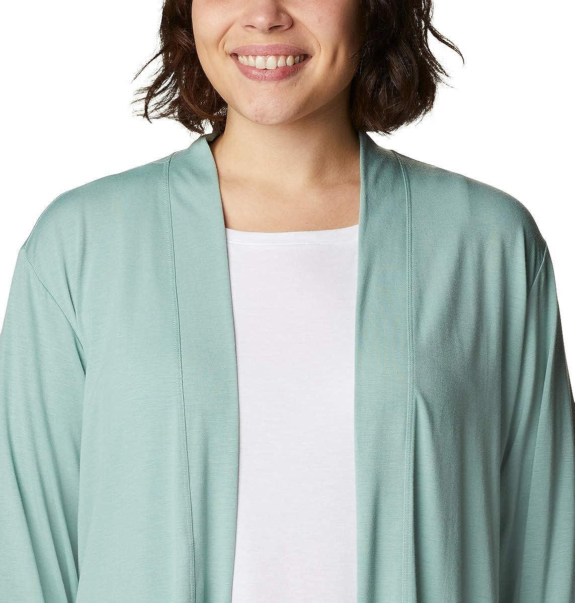 Columbia Women's Essential Elements Cardigan, Moisture Wicking, Sun Protection