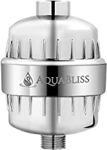 AquaBliss High Output 12-Stage Shower Filter - Reduces Dry Itchy Skin, Dandruff, Eczema, and Dramatically Improves the Con...