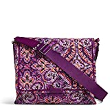 Vera Bradley Women's Signature Cotton Messenger Bag, Dream Tapestry