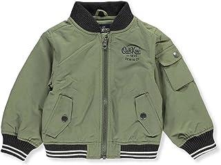 OshKosh B'Gosh Baby Boy's Olive Green Zip Front Bomber Jacket
