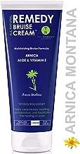 Remedy Moisturizing Bruise Formula Cream - Organic Arnica Montana - Aloe, Shea Butter & Vitamin E Speeds Healing Reduces Pain - Repair Stretch Marks, Scars, Swelling - Dermatologist Large 4 Oz