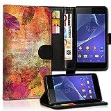 wicostar Wallet Book Style Flip Handy Tasche Hülle Schutz Hülle Schale Motiv Etui für LG L Bello - Design Flip MVD274