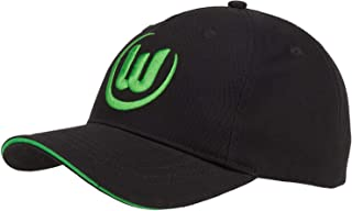 VfL Wolfsburg Basic Cap Logo schwarz Unisex one Size