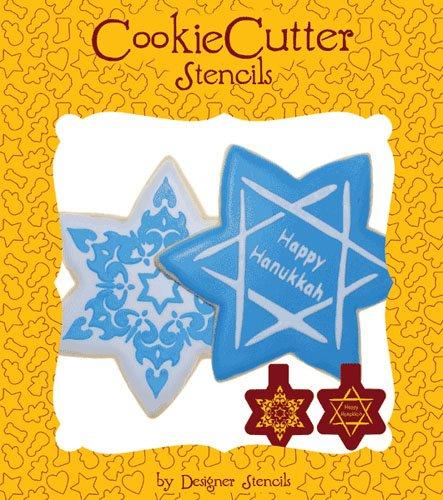 Star of David Hanukkah Cookie Stencil Set (no cutter) by Designer Stencils