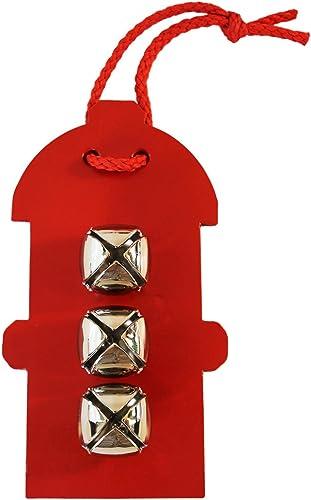 Auburn Lederwaren Tür Glocke Aufh er Hydrant rot