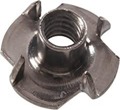 The Hillman Group The Hillman Group 4150 5/16-18 x 3/8 x 7/8 in. Stainless Steel Pronged Tee Nut (10-Pack)