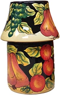 Casa Cortes Barcelona Collection Hand-Painted (CANDLE JAR HOLDER)