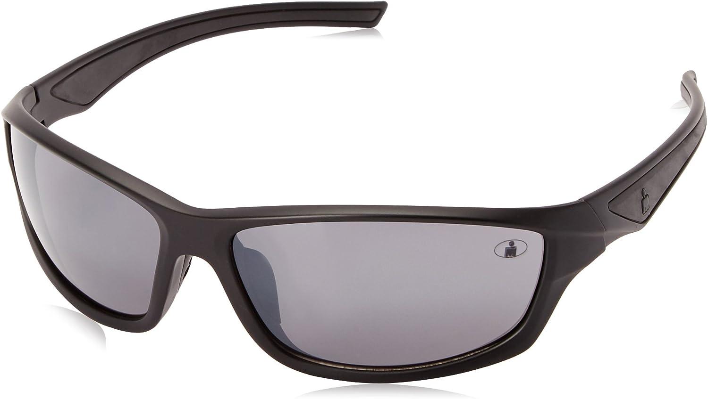 Ironman Wholesale Men's Relentless Wrap Sunglasses 63 Black Matte Super beauty product restock quality top! mm