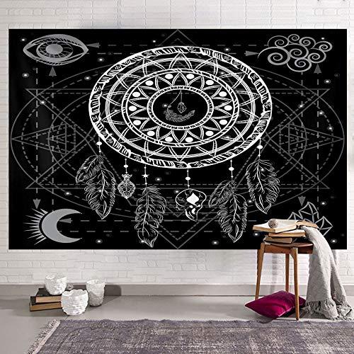 Traumfänger Wandteppich Mandala-Wandteppich...