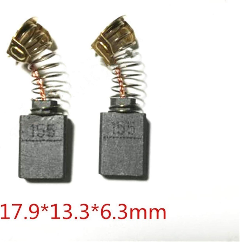 Juan-375 Carbon Brushes 181048-2 for MAKITA CB-154 CB154 CB-155 HR4500C HR5001C HR5000K HR3850K HM1202C HM1200K HM1200K Power Tool Part Color : 10pcs