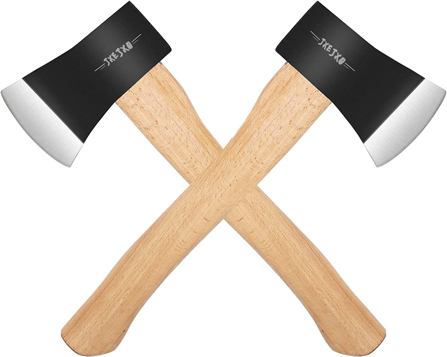 JXE JXO Chopping Axe Ranking TOP3 2-Pack,Camping - Stee Hatchet Max 74% OFF 1055 Carbon