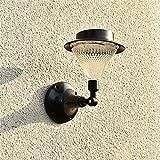 Solar Tischlampe Wandlampe Gartenlampe Stehlampe Garten Led-Licht Rasenlicht Landschaftslicht Wasserdichte Leistung Hartglas Außengarten Landschaftslicht