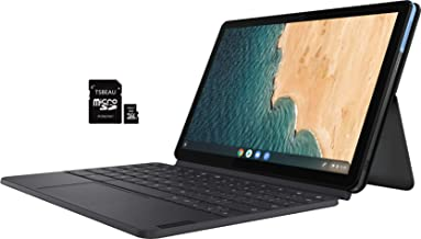 "$319 » Lenovo IdeaPad Duet Chromebook, 10.1"" IPS Touchscreen Tablet, 4 GB RAM - 128 GB eMMC, Wi-Fi, Chrome OS, with Keyboard Ice ..."