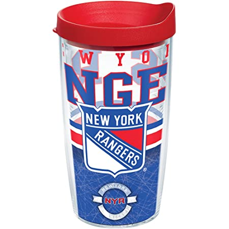Tervis NHL New York Rangers Made in USA Double Walled Insulated Tumbler, 16oz, Core