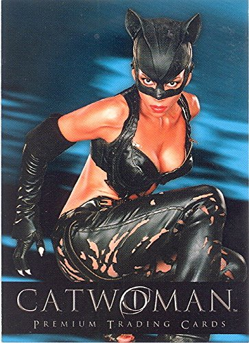 CATWOMAN THE MOVIE 2004 INKWORKS SAN DIEGO COMIC CON EXCLUSIVE PROMO CARD SD-2004 DC HALLE BERRY