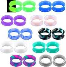 ROCK PUNK MEN LADY PLASTIC EAR TRIANGLE PLUG PLUGS FLESH TUNNEL EXPANDER
