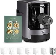 Machine à Pâtes Automatique, Balance Intégrée, Appareil à Pâtes Maison, Pasta Maker 180 W, Jusqu'à 600g de Farine, 7 Disqu...