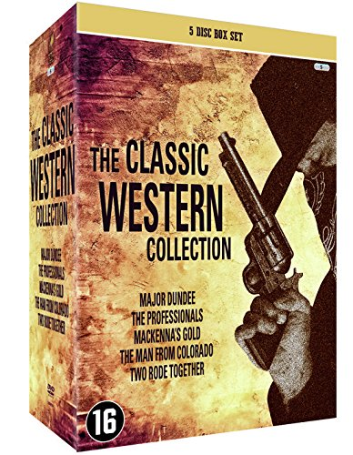 Western Klassiker Legenden Sammlerbox 5 DVD: Sierra Charriba / Die Gefürchteten Vier / MacKenna's Gold / Der Richter von Colorado / Zwei Ritten Zusammen [5 DVD Box Set]