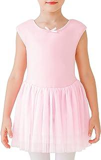 STELLE Toddler/Girls Cute Tutu Dress Ballet Leotard for Dance