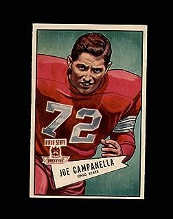1952 Bowman Large Football #074 Joe Campanella RC STARX 5.5 EX+ CS52913